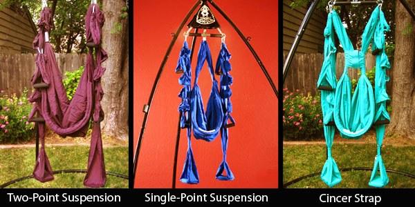 aerial suspension swing options
