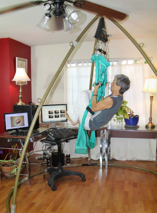 yoga swing home work station and aerial suspension stand passionwork station   yoga swings trapeze  u0026 stands since 2001  rh   yogaswings