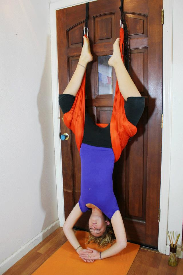 Yoga Suspended From Ceiling Taraba Home Review