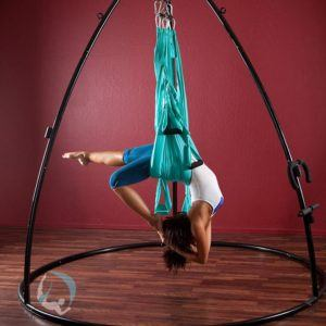 yoga poses  stretches  yoga swings trapeze  stands