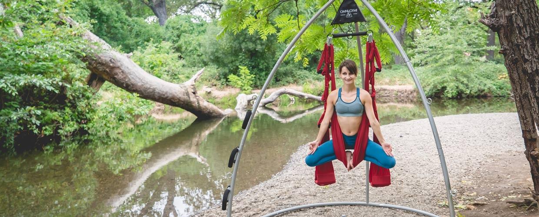 Installing Your Yoga Swing Omni Gym Yoga Swings