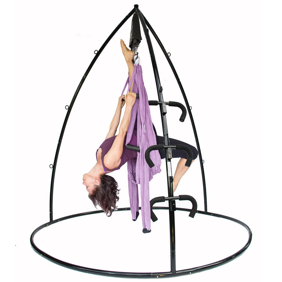 Save Big On Yoga Swing Trapeze Bar Stand Bundle Yoga Swings