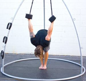 ab straps core blaster  yoga swings trapeze  stands