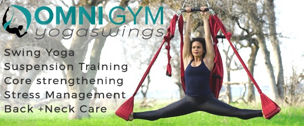 Simple Yoga Swing Exercises For Beginners To Practice At Home